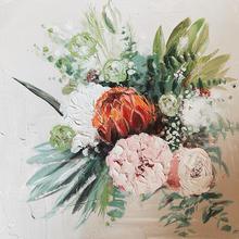 Bouquet Painting - Original 12 x 12