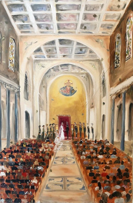 Live Wedding Painting  - Superior WI .jp