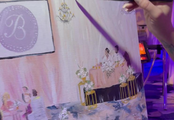 Marissa J Paint My Wedding Day - Mystic