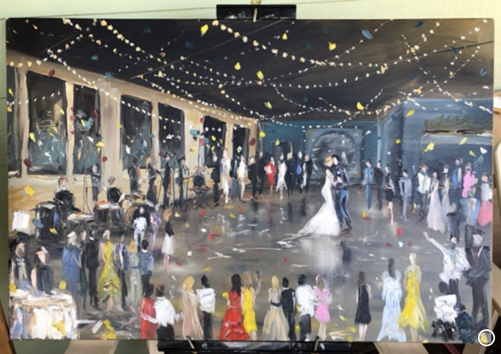 First Dance Painting - Solar Arts