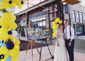 Two Painting package - Brau hous Brewing - Minneapolis MN