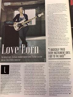LornyT Interview Bass Guitar Magazine 20
