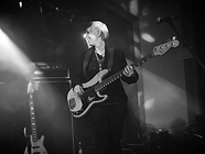 Lorna Thomas female bassist