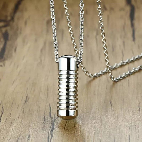 Memorial Ash Stainless Steel Cremation Urn Necklace/Urn/Cremation Necklace