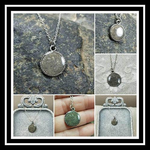 Memorial Ash Pendant/Memorial Ash Jewelry/ Pet Memorial Ash Pendant/Cremation Ne