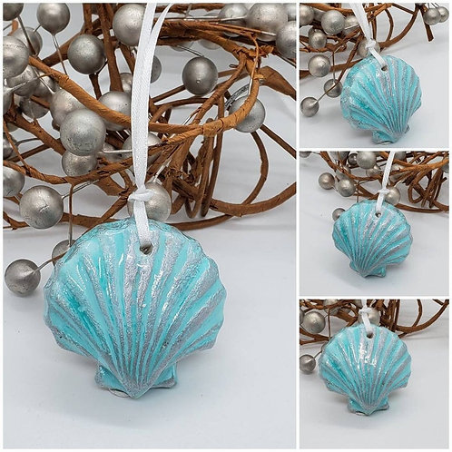 Memorial Cremation Ash Shell/Memorial Shell/Cremation Ornament/ShellMemorial