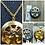 Thumbnail: Memorial Ash Cremation Cherub Locket Pendant Necklace