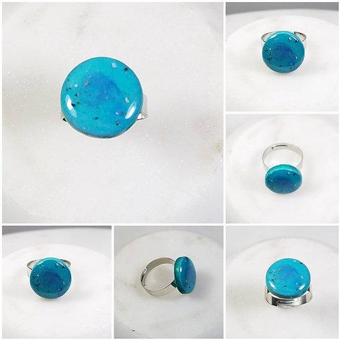 Memorial Ash Ceramic Ring/Cremation Ring/Pet Memorial Jewelry Cremation Memorial