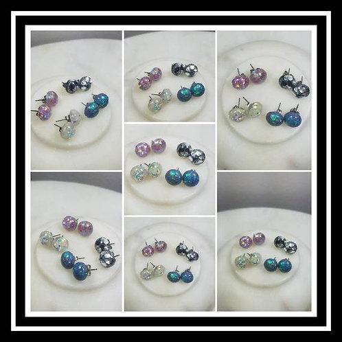 Memorial Ash Cremation Earrings/Pet Memorial