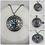 Thumbnail: DYI Memorial Ash Cremation Compass Necklace