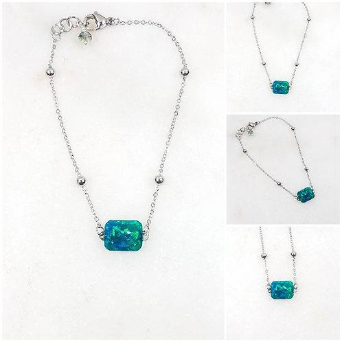 Memorial Ash Cremation Bracelet/Cremation Bracelet /Pet Memorial/Ash Jewelry/100