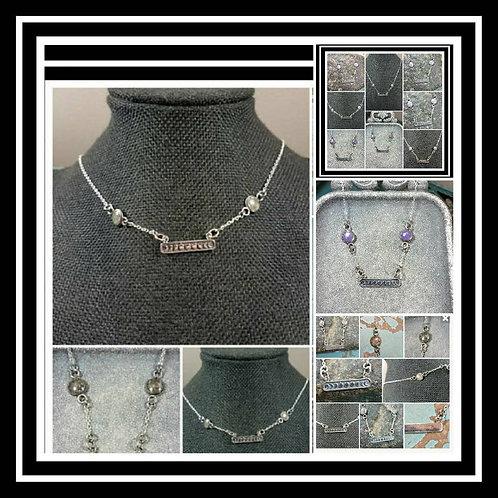 Sterling Silver Memorial Ash Moon Phase Necklace/Memorial Ash Jewelry/Pet Memori