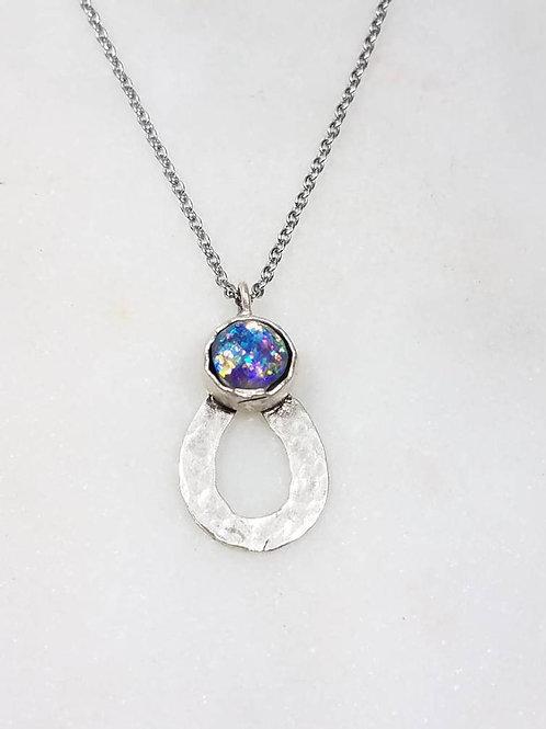 Memorial Ash Cremation Drop Pendant Necklace /Ash Necklace /Cremation Necklace /