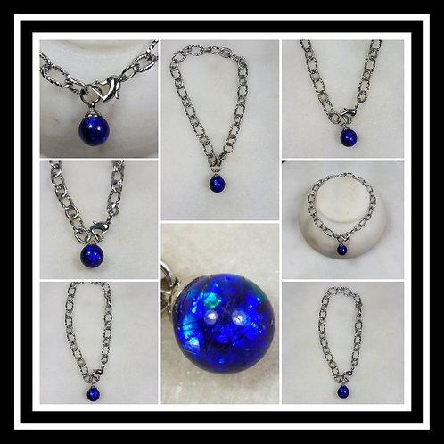 Stainless Steel Memorial Ash Bracelet/Memorial Ash Jewelry/Pet Memorial Jewelry/