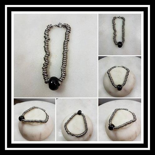 Memorial Ash Cremation Bead Bracelet/Memorial Bracelet/Memorial/Cremation Bracel