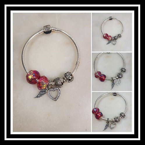 Memorial Ash Sterling Silver Pandora Bracelet