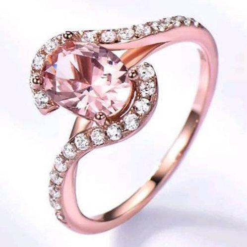 Studiodragonfly19 Memorial Ash Rose Gold Ring/Memorial Ash JewelryPet Memorial