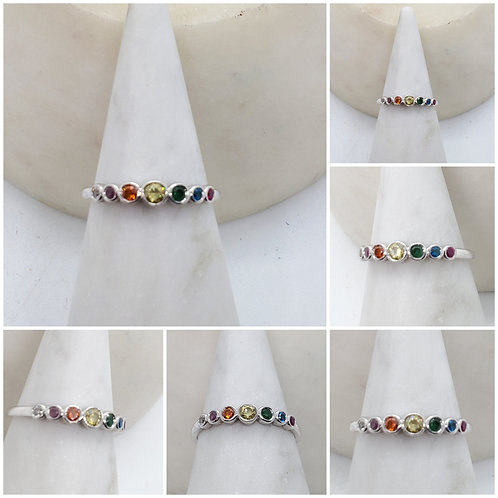 Studiodragonfly19 Memorial Ash Cremation Rainbow Bridge Ring