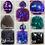 Thumbnail: Sterling Silver Daisy Memorial Ash Earrings