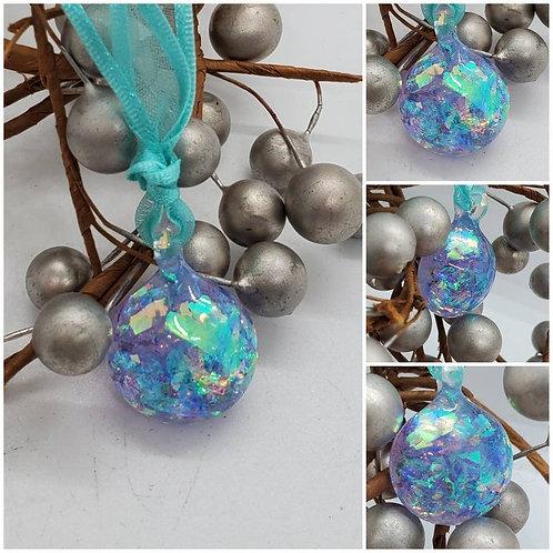 Memorial Cremation Ash Crystal Drop Ornament/Memorial Crystal Drop/Cremation