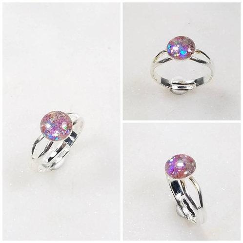 Memorial Ash Ring/Memorial Pendant /Pet Memorial Jewelry/100+ color options/ 8mm