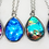 Thumbnail: DYI Memorial Ash Cremation Galaxy Photo Glass Pendant Necklace