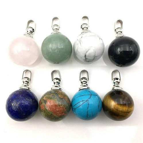 Memorial Ash Crystal Stone Cremation Urn Necklace/Cremation Pendant/Cremation