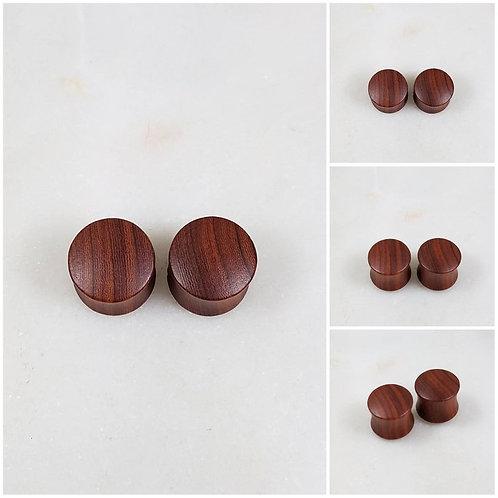 Cremation Wood Memorial Ash Tunnle Ear Plugs Piercing/Memorial Jewelry/Pet Memor