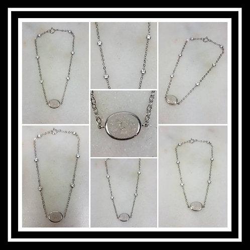 Sterling Silver Memorial Ash Bracelet