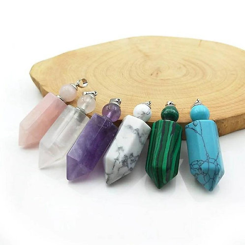 Memorial Ash Crystal Cremation Urn Necklace/Cremation Pendant/Cremation Necklac