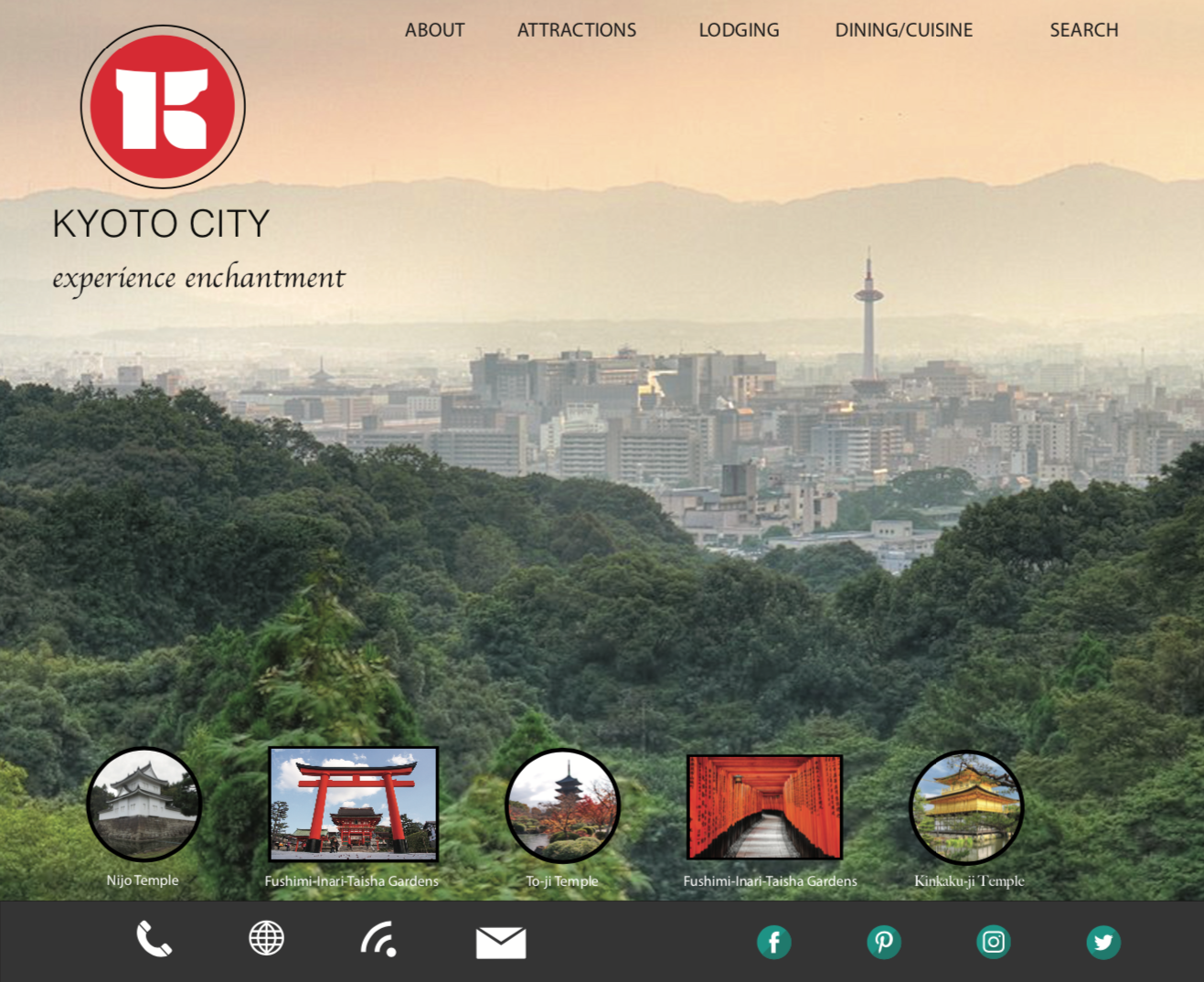 webpage home