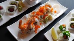 Assortment of Sushi Rolls