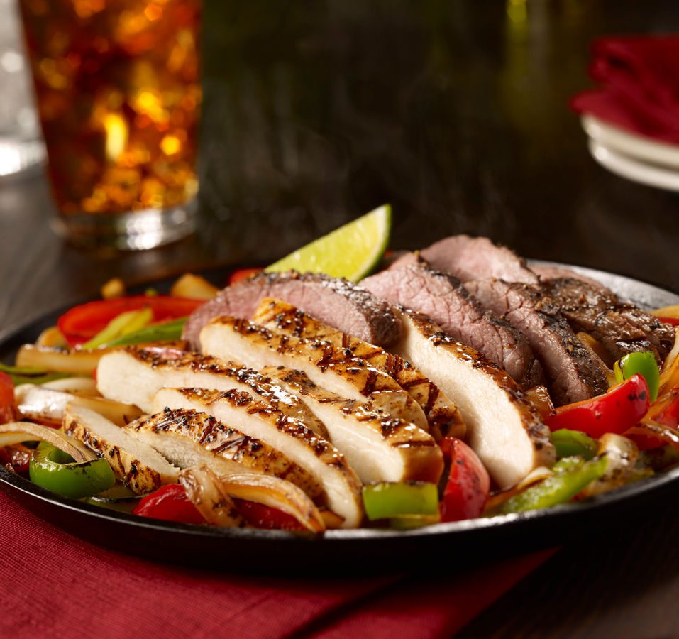 COMBO FAJITA (BEEF AND CHICKEN)