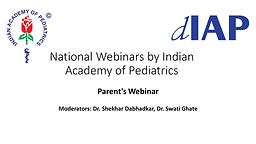 Parent's Webinar: Yoga for mental health disorder and well being of children