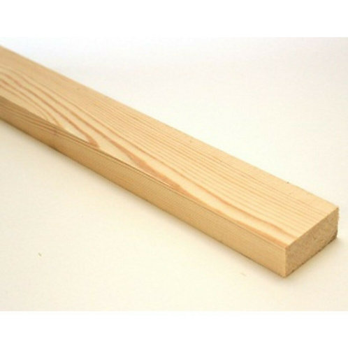 "3"" x 1"" Planed Timber whitewood"