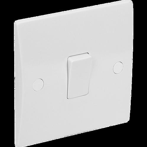 Plate Switch 1G 10A 1 Way