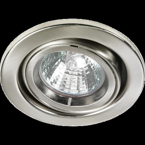 Cast Ring Adjustable Downlight Satin Nickel