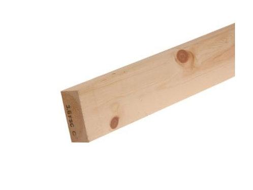 """3"""" x 2"""" Timber (Redwood)"""
