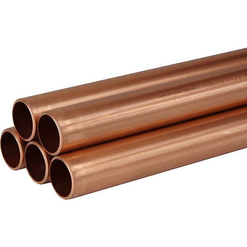 22mm x 3m Copper Pipe