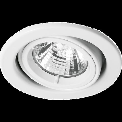 Cast Ring Adjustable Downlight White
