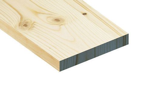 "9"" x 1"" Planed Timber  (whitewood)"