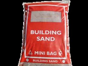 Red Building Sand 25kg Bag