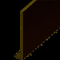 "225mm (9"") Fascia Board 5m Rosewood"