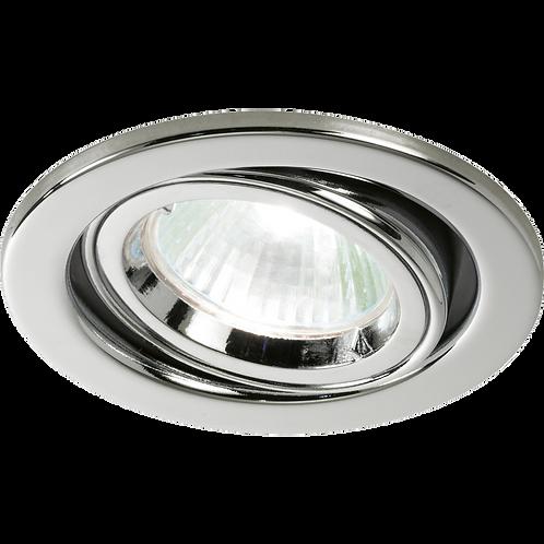 Cast Ring Adjustable Downlight Polished Chrome