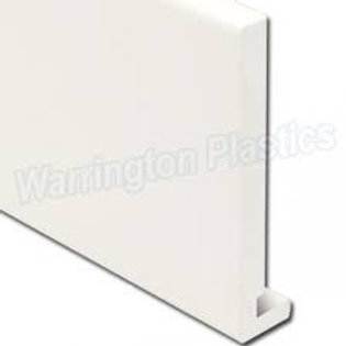 "200mm (6"") Fascia Board (18mm) 5m White"
