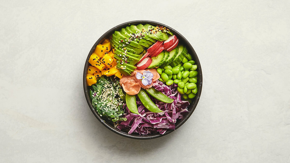 A Photo of Vegan Poké Bowl