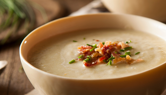 Celeriac Hazelnut & Truffle Soup
