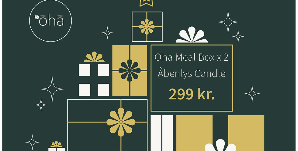 Oha Meal Box & Candle