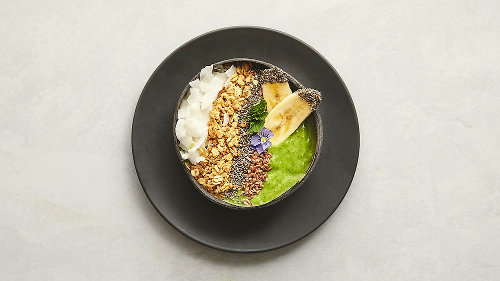 Photo of Green Gasoline Smoothie Bowl
