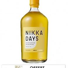 NIKKA Days 40% Blended Whisky, Japon, 70cl